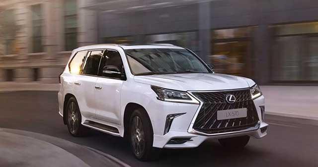 2020 Lexus LX 570 redesign