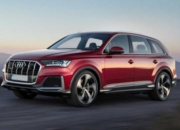 2021 Audi Q7 facelift
