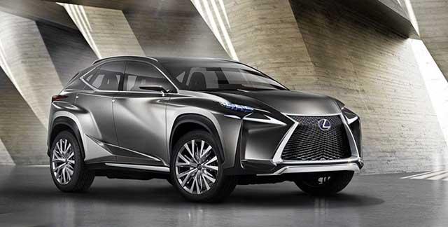 2021 Lexus NX redesign