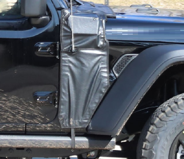 2021 Jeep Wrangler spy photos