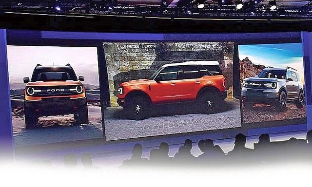 2020 Ford Baby Bronco teaser