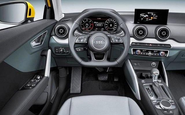 2021 Audi Q2 interior