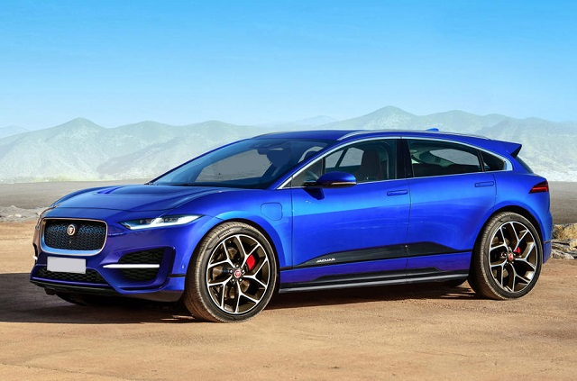 2021 Jaguar J-Pace render