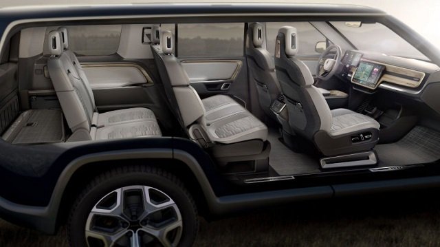 2021 Rivian R1S seven seater