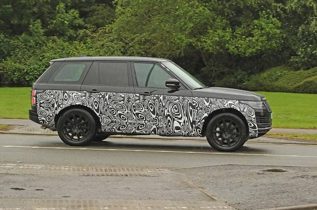 2021 Land Rover Range Rover spy photos