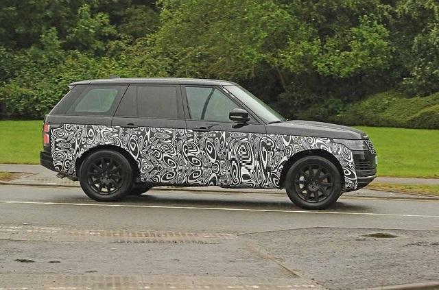 2021 Land Rover Range Rover spy photos