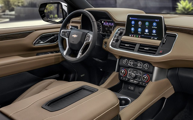 2021 Chevy Suburban interior