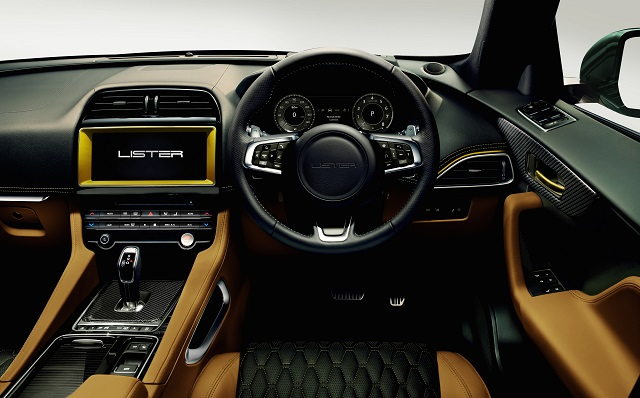 2021 Lister Stealth interior