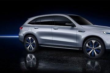 2021 Mercedes EQC concept