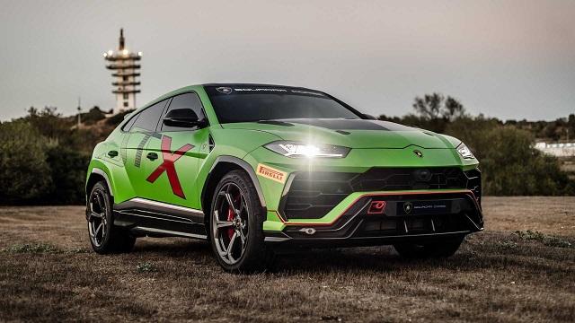 2021 Lamborghini Urus superleggera