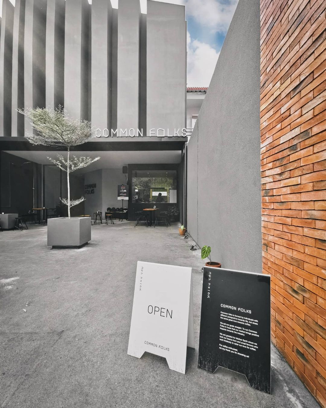 Cafe Common Folks Medan