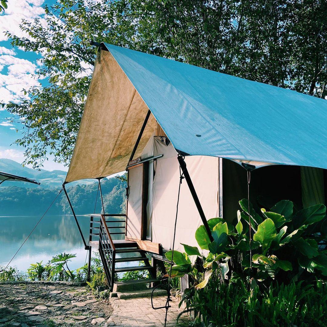 Glamping Penginapan Lakeside Rancabali Bandung