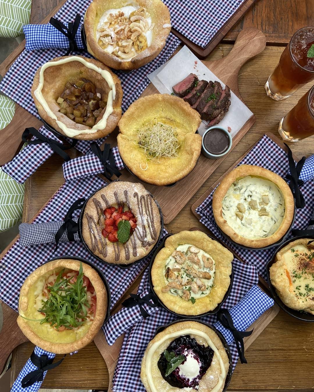 Menu Baby Dutch Pancake Bandung