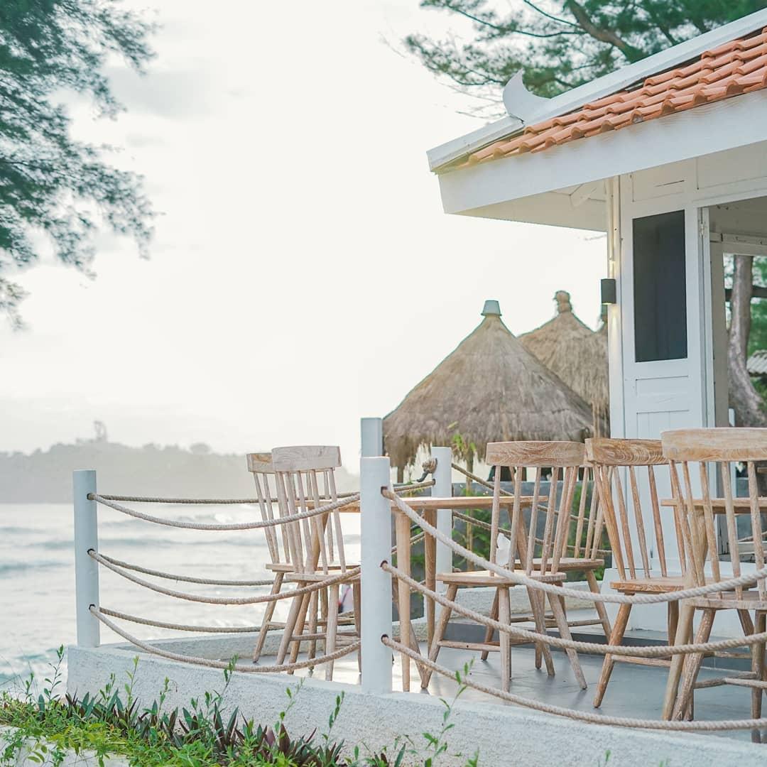 Pemandangan Di Cafe De Slili Gunung Kidul