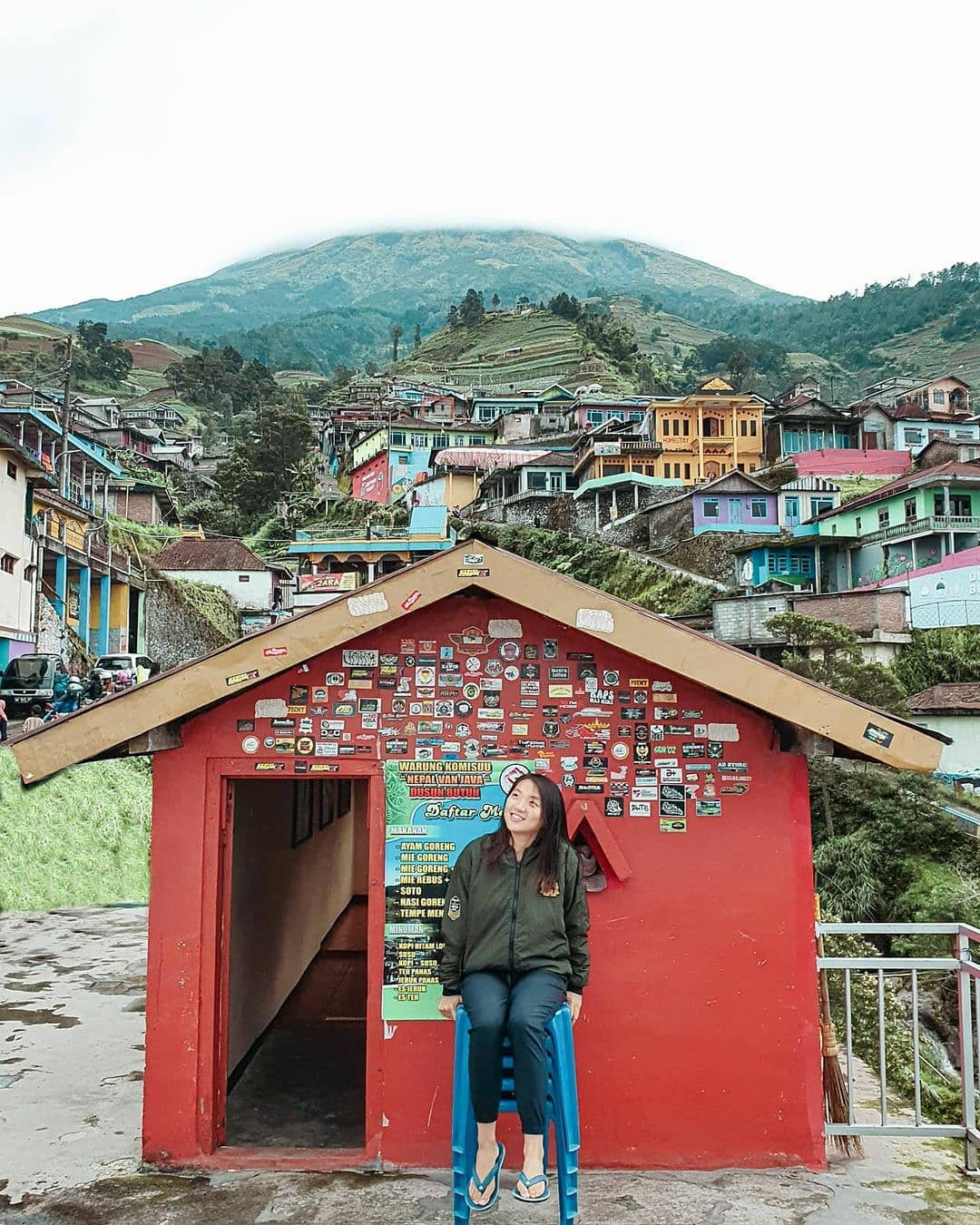 View Nepal Van Java Magelang