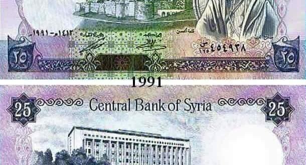 أسعار صرف الدولار وغرام الذهب مقابل الليرة السورية في السويداء