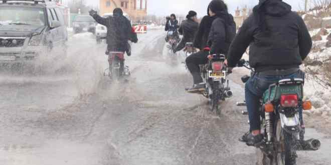حملة لمصادرة الدراجات غير النظامية، في إحدى مناطق السويداء ..!