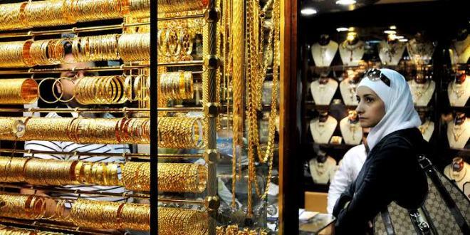 انخفاض سعر غرام الذهب في #السويداء اليوم الإربعاء 21\8\2019