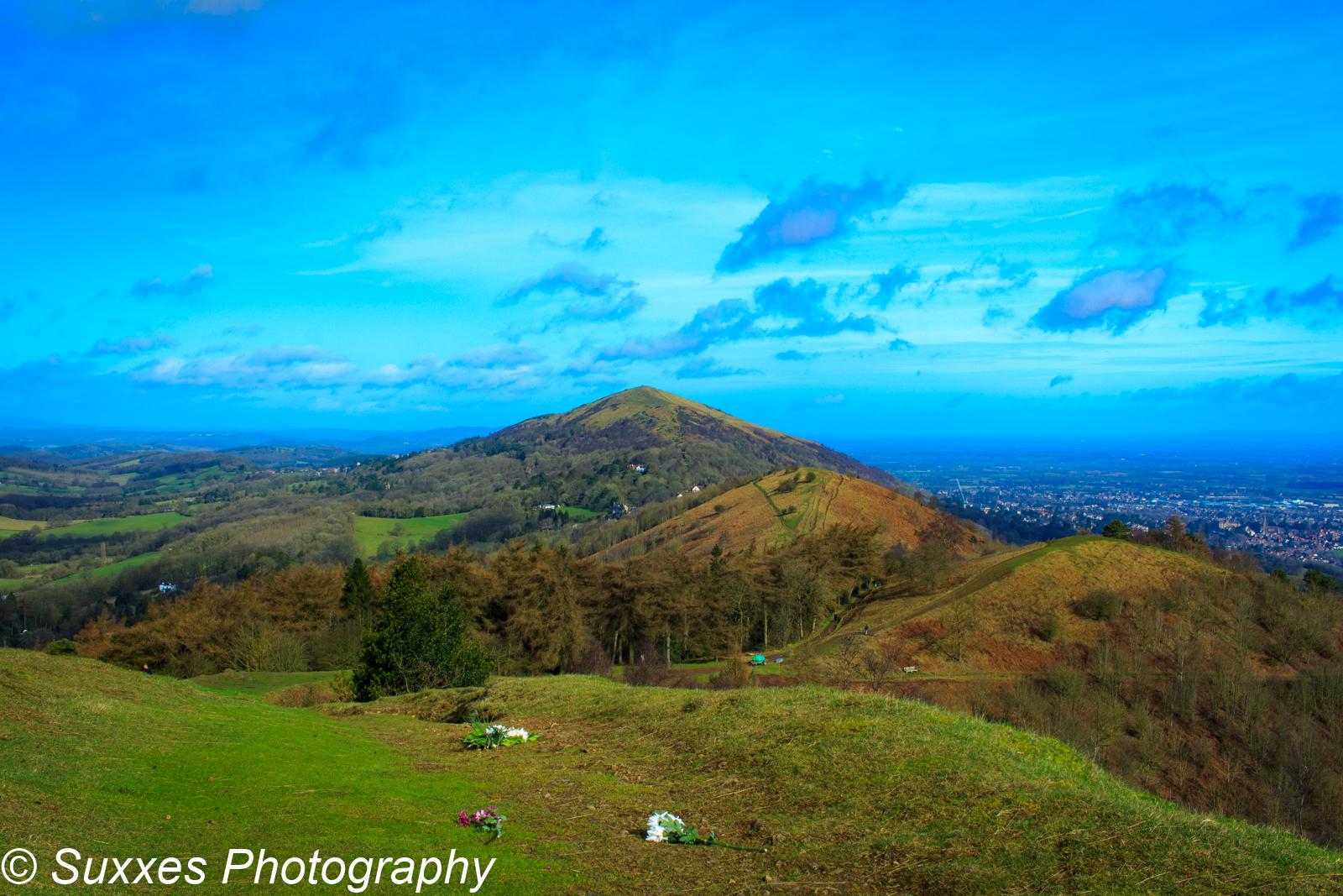 Malven hills Worcestershire