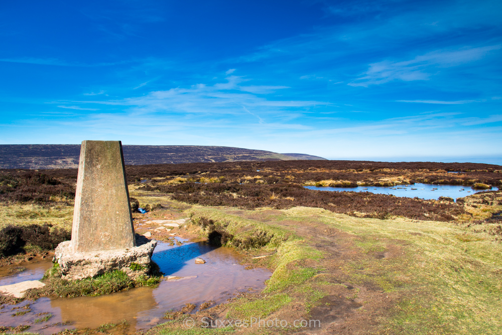 trig point black hill