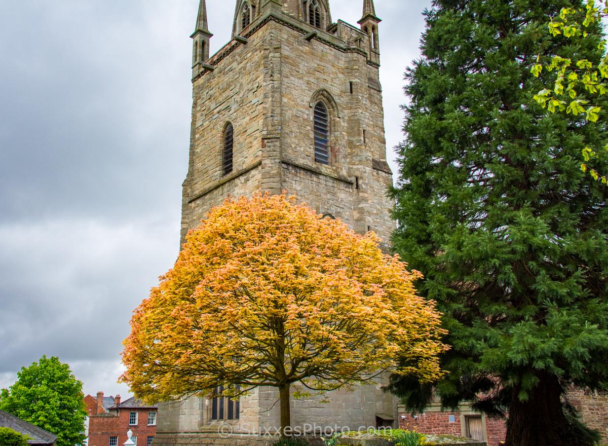 church tower ross on wye