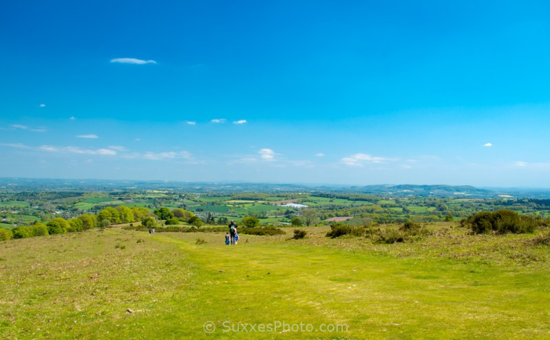 Hikers Offas Dyke Path