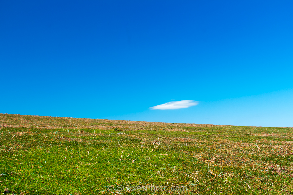 lone cloud Hergest Ridge