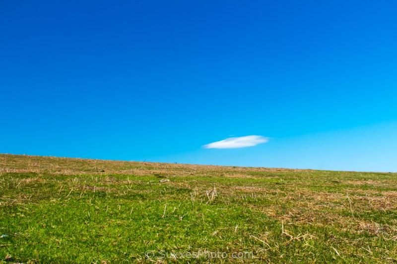 lone cloud Hergest Ridge