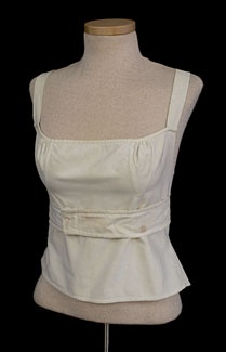 Corset similar to less expensive styles. 1810-20