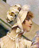 Hat from Karl August Hagberg painting