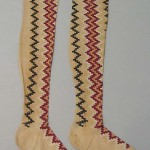 early 19th c stockings met