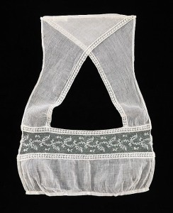 Lace Tucker, 1820's, French