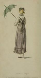 Pagoda parasol from Ackermann's Repository print, 1814