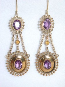 "Earrings ""The Three Graces"" 1810"