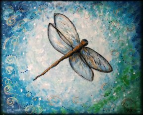 Acrylic Dragonfly