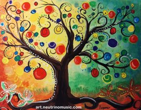 Acrylic Wishing Tree
