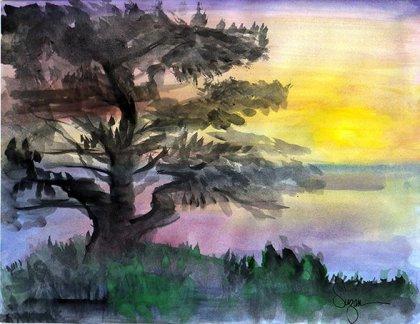 Tree (Watercolor)
