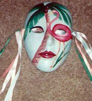 Ceramic Mask - Tropical by Suzanna