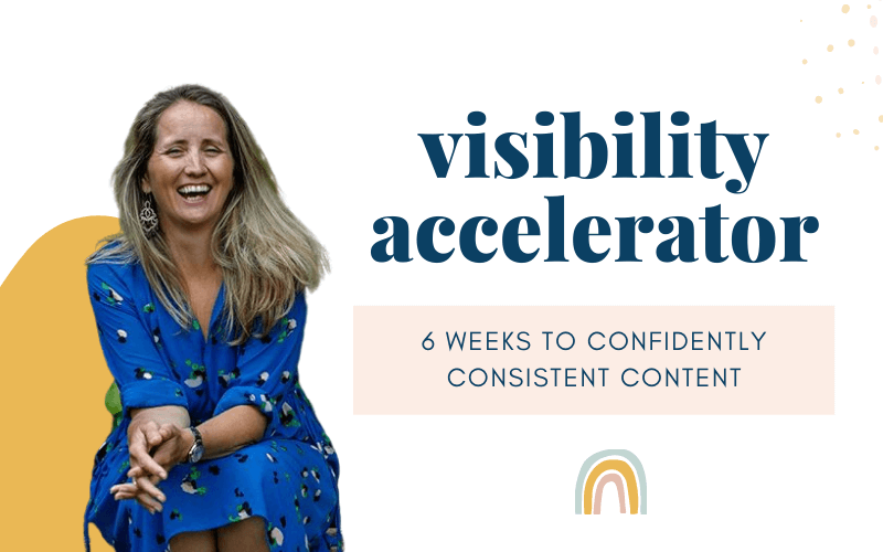 , Visibility Accelerator sign up