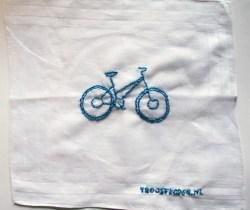 Fiets verloren? Laat je fiets borduren om het leed te verzachten.