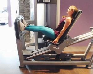 Benen trainen: Leg press