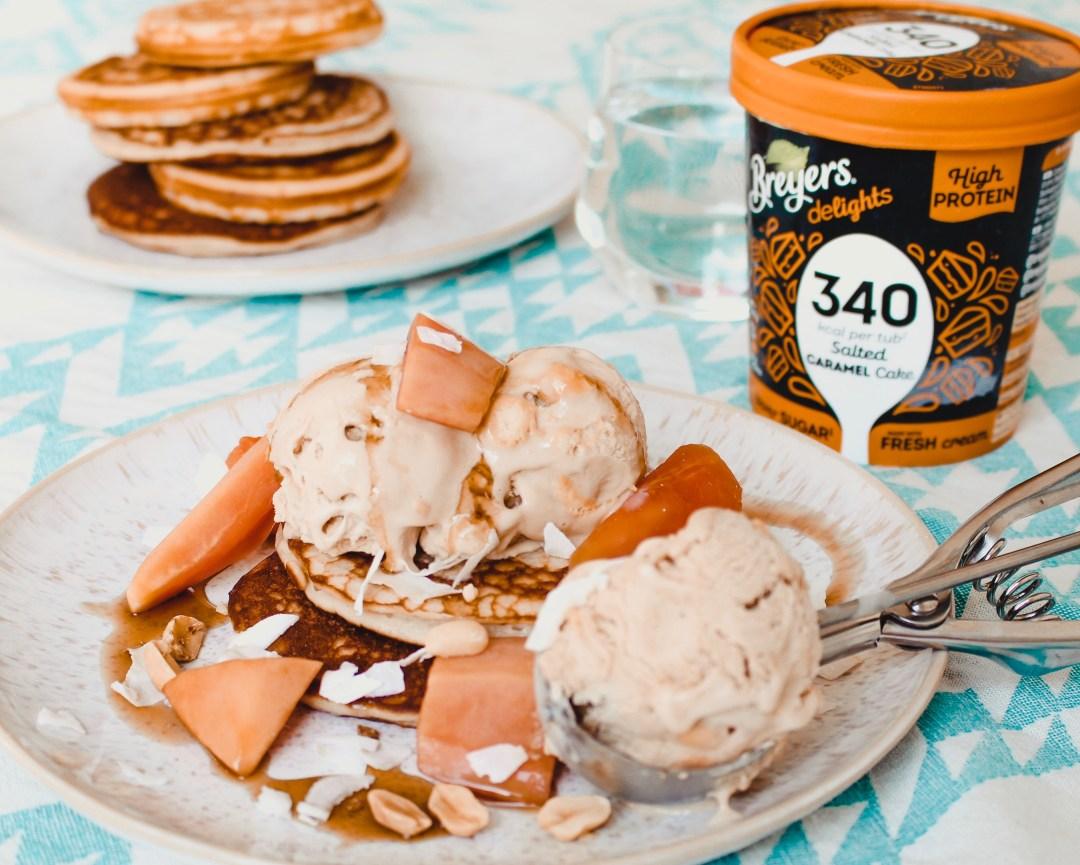 salted caramel ijs