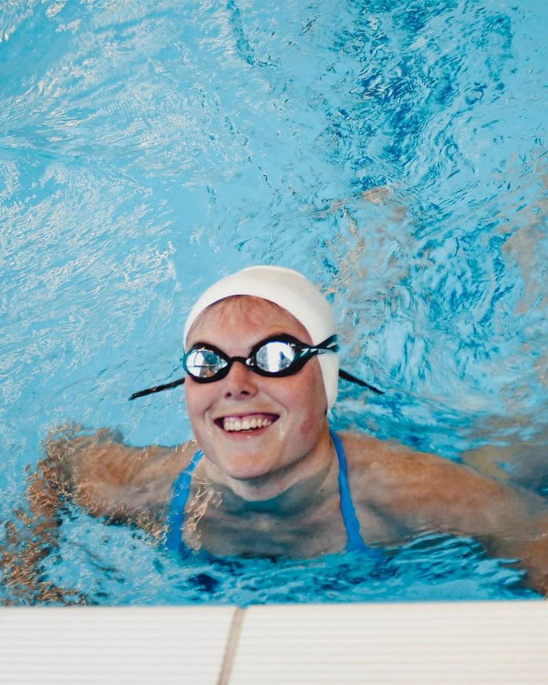 zwemtraining - zwemmer - zwembril