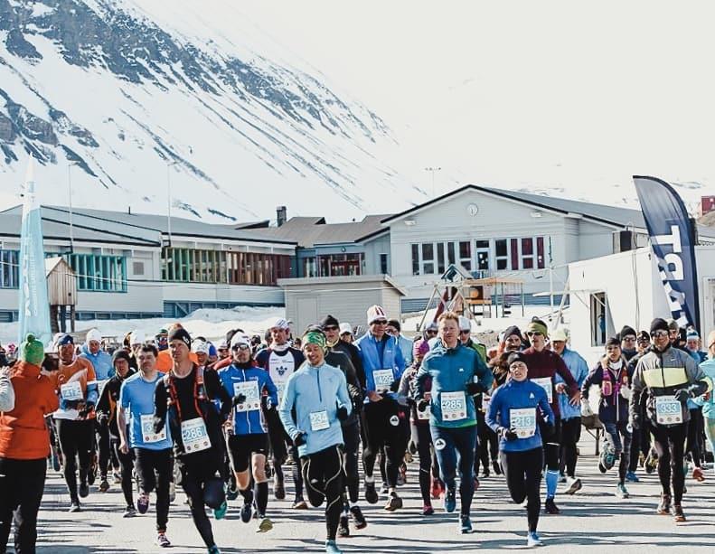start halvmarathon longyearbyen