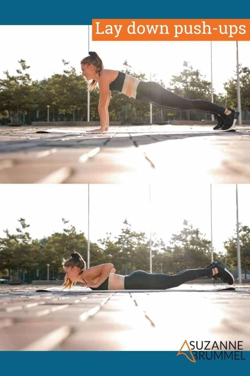 lay down push-ups