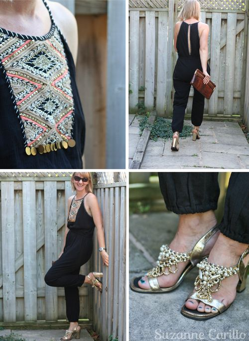 Black anthropologie jumpsuit how to wear a jumpsuit suzanne carillo