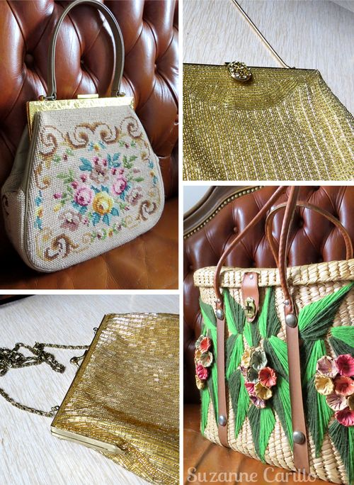 Vintage handbags suzanne carillo