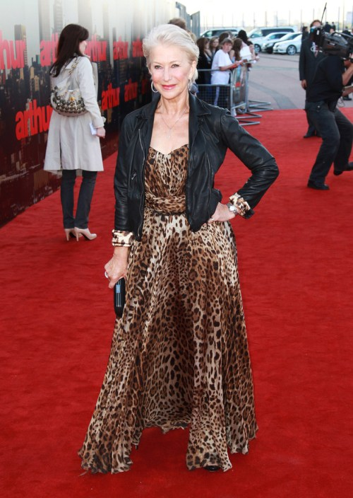 How to wear animal print trend when you are over 40.
