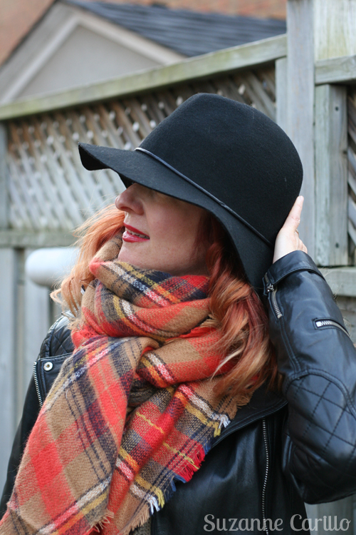 how to style a blanket scarf suzanne carillo