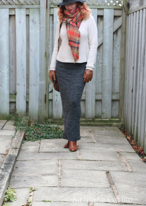 how to style a blanket zara scarf fashion over 40